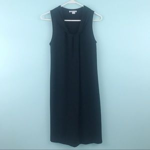 Vince Roll Neck Black Sleeveless Dress
